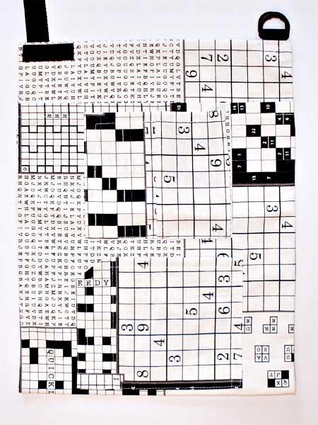 Krückengurt Dekor Sudoku