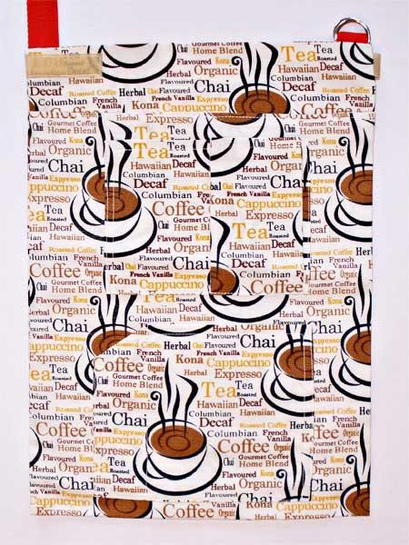 Krückengurt Dekor Tee oder Kaffe